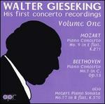 Walter Gieseking: His First Concerto Recordings, Vol. 1