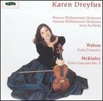Walton: Viola Concerto; McKinley: Viola Concerto No. 3
