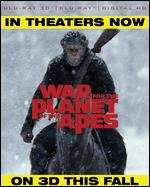 War for the Planet of the Apes [3D] [Includes Digital Copy] [Blu-ray] - Matt Reeves
