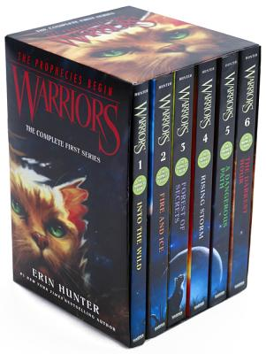 Warriors Box Set: Volumes 1 to 6: The Complete First Series - Hunter, Erin