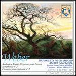 Weber: Andante e Rondo Ungarese; Symphony No. 2; Concerto pour Clarinet No. 2