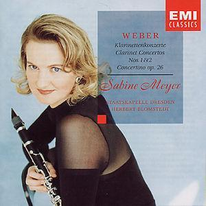 Weber: Clarinet Concertos Nos. 1 & 2 -