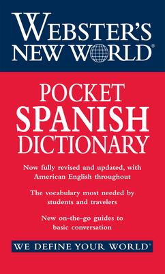 Webster's New World Pocket Spanish Dictionary - Houghton Mifflin Harcourt Publishing Company