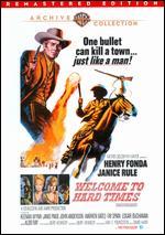 Welcome to Hard Times - Burt Kennedy
