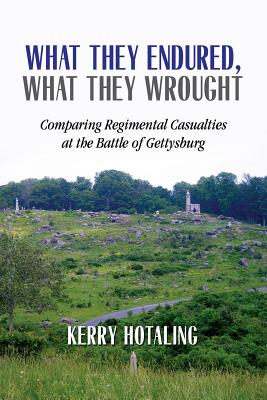 What They Endured, What They Wrought: Comparing Regimental Casualties at the Battle of Gettysburg - Hotaling, Kerry