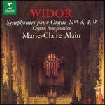 Widor: Symphonies for Organ Nos. 3, 4, 9