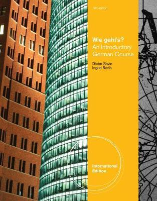 Wie geht's?, International Edition - Sevin, Dieter, and Sevin, Ingrid