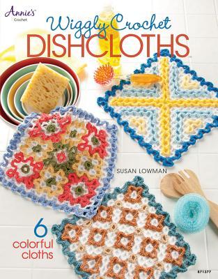 Wiggly Crochet Dishcloths - Lowman, Susan