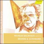 Wilhelm Backhaus plays Brahms & Schumann
