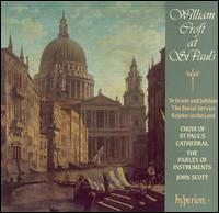 William Croft at St. Paul's - Andrew Burden (tenor); Ashley Stafford (alto); Benjamin Collingwood (treble); Charles Gibbs (bass);...