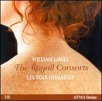 William Lawes: The Royall Consorts - Les Voix Humaines