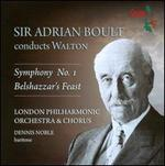 William Walton: Symphony No. 1; Belshazzar's Feast