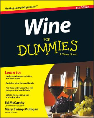 Wine for Dummies - McCarthy, Ed