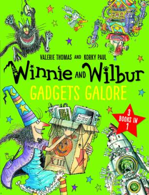 Winnie and Wilbur: Gadgets Galore and other stories: 3 books in 1 - Thomas, Valerie
