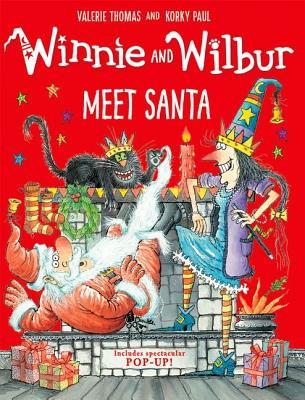 Winnie and Wilbur Meet Santa with audio CD - Thomas, Valerie