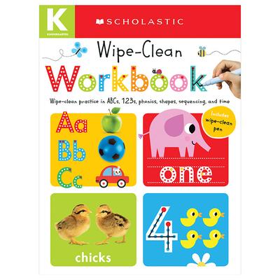 Wipe Clean Workbook: Kindergarten (Scholastic Early Learners) - Scholastic, and Scholastic Early Learners