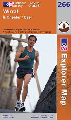 Wirral & Chester: The Essential Map for Outdoor Activities. -