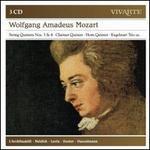 Wolfgang Amadeus Mozart: String Quintets Nos. 3 & 4; Clarinet Quintet; Horn Quintet; Kegelstatt Trio; Etc.