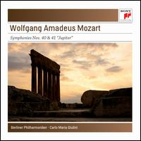 "Wolfgang Amadeus Mozart: Symphonies Nos. 40 & 41 ""Jupiter"" - Berlin Philharmonic Orchestra; Carlo Maria Giulini (conductor)"