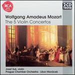 Wolfgang Amadeus Mozart: The 5 Violin Concertos