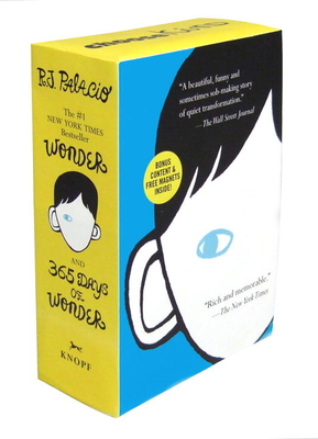 Wonder/365 Days of Wonder Boxed Set - Palacio, R J