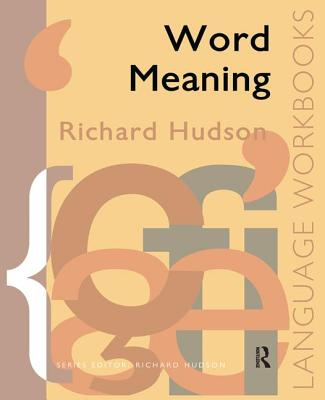 Word Meaning - Hudson, Richard