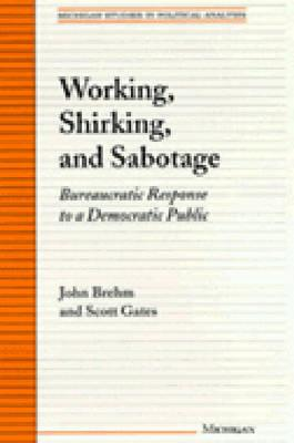 Working, Shirking, and Sabotage: Bureaucratic Response to a Democratic Public - Brehm, John, and Gates, Scott, Dr.
