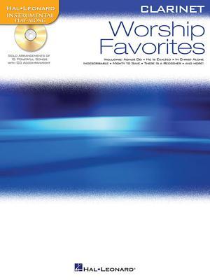 Worship Favorites: Instrumental Play-Along for Clarinet - Hal Leonard Corp (Creator)