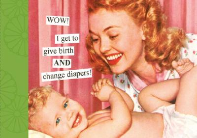 Wow! I Get to Give Birth and Change Diapers Photo Album - Taintor, Anne