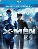 X-Men [2 Discs] [Includes Digital Copy] [UltraViolet] [Blu-ray/DVD] - Bryan Singer