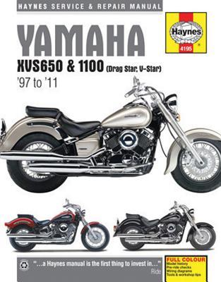 Yamaha Xvs650 & 1100 (Drag Star, V-Star) Service and Repair Manual: 1997 to 2011 - Mather, Phil