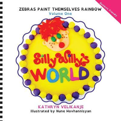 Zebras Paint Themselves Rainbow - Velikanje, Kathryn
