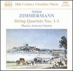 Zimmermann: String Quartets Nos. 1-3