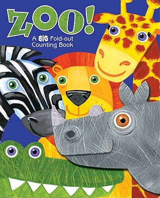 Zoo!: A BIG Fold-Out Counting Book - Froeb, Lori